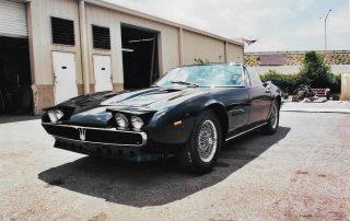 1969 Maserati Ghibli Convertible